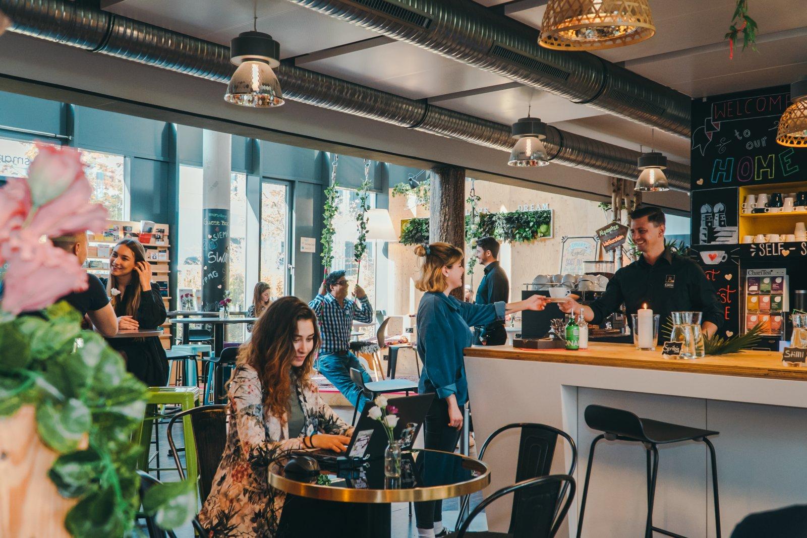 Unser smartvillage Café