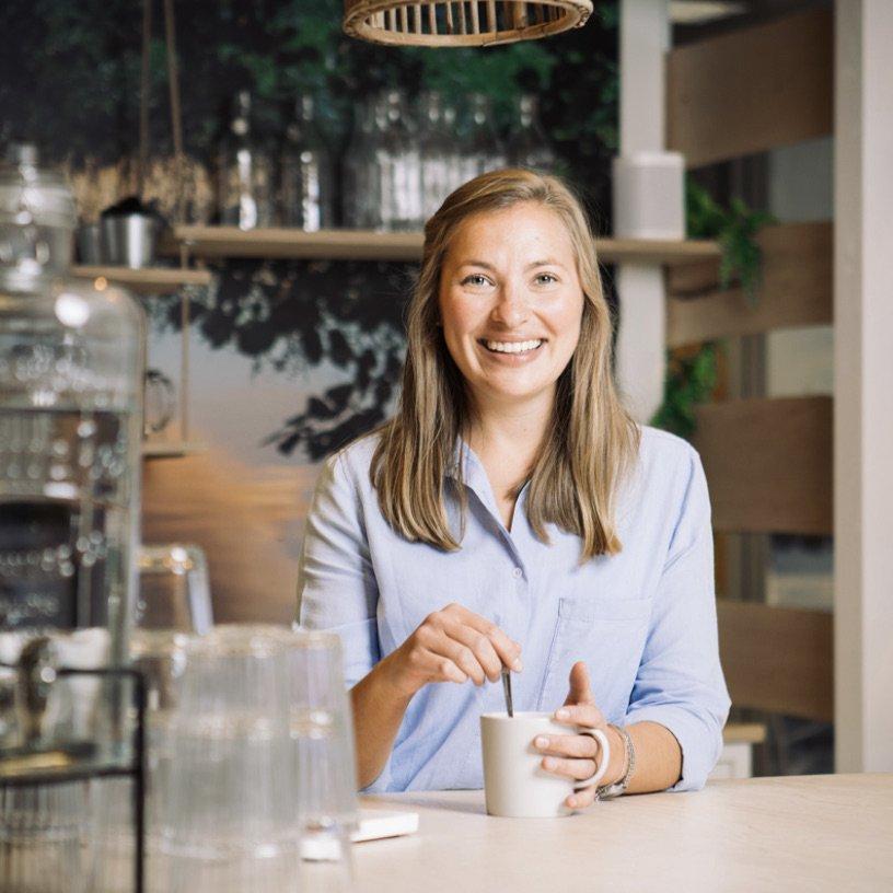 Fanny unsere Location-Managerin in Finnland