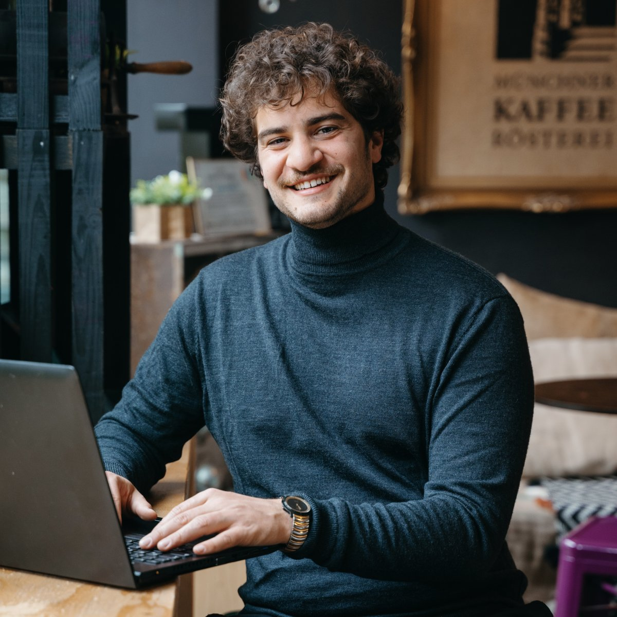 Unser Sales-Community-Manager Caio